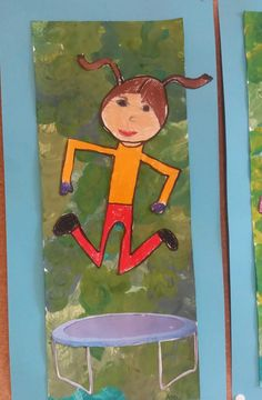 Painting For Kids, Art For Kids, Children Painting, Art Classroom, Classroom Ideas, Art Lessons, Kindergarten, Wallpaper, Illustration