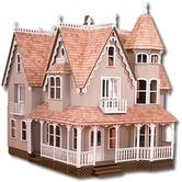 From mansions to lighthouses, sheds to barns to grand estates, our collection of dollhouse kits has it all. Shop DIY dollhouse kits at Miniatures! Victorian Dolls, Victorian Dollhouse, Victorian Houses, Dollhouse Kits, Dollhouse Miniatures, Wooden Dollhouse, Miniture Dollhouse, Dollhouse Tutorials, Dollhouse Dolls