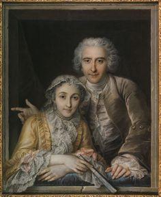 Charles-Antoine Coypel, Philippe Coypel and his Wife, 1742