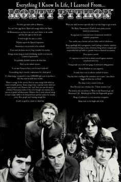 Chcęęęęęęęęęęęęęęęęęęęęęęęęę Monty Python Wszystko Czego Mnie Nauczył - plakat