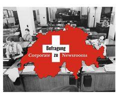 Welche Rolle spielen Corporate Newsrooms in der Kommunikation von Schweizer Unternehmen? Die Auswertung der Umfrage des IAM/zhaw in Winterthur.