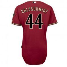 Arizona Diamondbacks Majestic MLB Paul Goldschmidt Cool Base Authentic Player Jersey (Red)