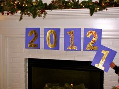 Fun and easy learning New Year's Eve activity for kids