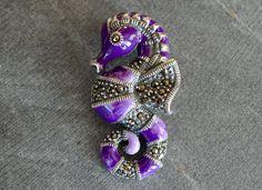 Enameled Sterling Silver Seahorse Pendant Marcasite Purple Enamel Jeweled Gemstone Pendant 925 Sterling Silver by TheBeadBandit on Etsy Purple Agate, Marcasite, Coupon Codes, Enamel, Brooch, Seahorses, Jewels, Gemstones, Sterling Silver