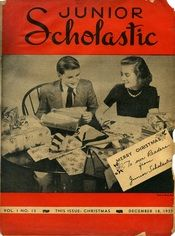 The 1937 Christmas issue of Junior Scholastic.