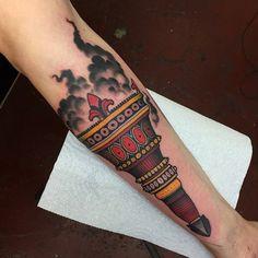 torch tattoo - Pesquisa Google