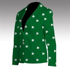 40a30e783 St Patricks Day Golf Gear · Shamrocks Womens Made-To-Order Blazer by  Loudmouth Golf. Buy it now @ · Luck Of The ...