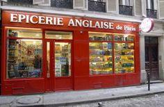 Epicerie anglaise à Paris République