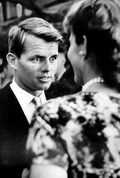 Robert Kennedy looking surprised?