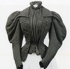 Bodice worn by Empress Elizabeth