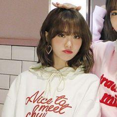 Wjsn Luda, Always Smile, Cosmic Girls, Mingyu, Pink Hair, Tulip, Kpop Girls, Icons, Female