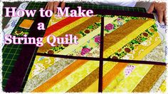If you are anything like us then you will have a large amount of scraps in your stash and its can sometimes be challenging to come up with ideas to use them. We find that making string quilts is an ideal way of using them, and these quilts not only look awesome they are easy …
