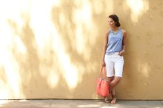 I know that in my profile I said no shorts - but I DO wear bermuda shorts and could use a new pair!  6 Different Ways to Wear Summer Shorts