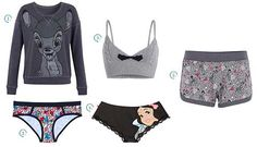 Undiz nouvelle collection Disney Disney Outfits, New Outfits, Cute Outfits, Fashion Outfits, Pyjama Sexy, Sexy Pajamas, Collection Disney, Nightwear, Lounge Wear
