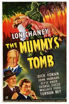 The Mummy's Tomb 1942 Movie Poster Theatrical One Sheet Style A. Available here: http://www.classichorrorposters.com/shop/1940s-horror-movie-posters/the-mummys-tomb-1942-movie-poster-theatrical-one-sheet-style-a/