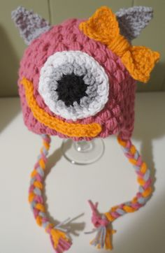 What a Pink Monster by Bee's Beanies