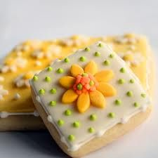 Better Bit of Butter: Beautiful Decorated Cookies Galletas Cookies, Iced Cookies, Biscuit Cookies, Easter Cookies, Cookie Desserts, Yummy Cookies, Cupcake Cookies, Sugar Cookies, Cookie Recipes