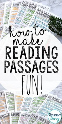 How to Make Reading Passages FUN for Students! – Student Savvy How to Make Reading Passages FUN for Students! 3rd Grade Reading, Student Reading, Teaching Reading, Third Grade, Teaching Tips, Fourth Grade, Sixth Grade, Guided Reading, Free Reading