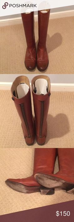 Frye Melissa Riding Boots size 11 Only worn a couple of times but look brand new Frye Shoes Heeled Boots