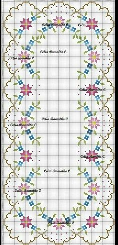 Anemones Tablecloth - Mobil -