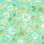 Cotton + Steel Alexia Abegg Hatbox Palm Springs Aqua [CS-4000-001] - $8.76 : Pink Chalk Fabrics is your online source for modern quilting cottons and sewing patterns., Cloth, Pattern + Tool for Modern Sewists