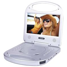 Sylvania SDVD1052-SILVER 10 Portable DVD Player with Integrated Handle (Silver)