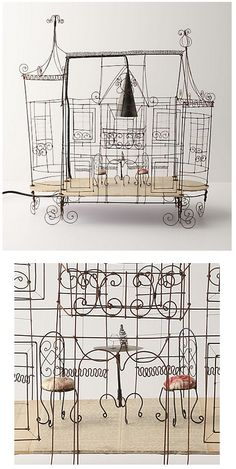 Quirky wire structures