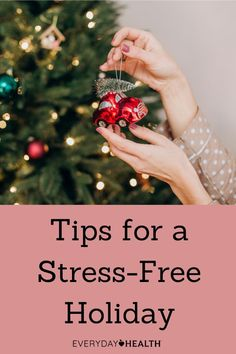 The season is synonymous with stress, but that doesn't mean it should be the norm. Find out how to remain stress-free. What Is Heart Disease, Heart Disease Symptoms, Natural Stress Relief, Natural Remedies For Anxiety, Chronic Stress, Stress And Anxiety, Stress Management Strategies, Stress On The Body, Holiday Stress