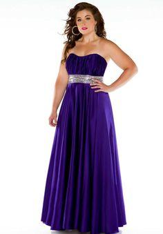 Cassandra Stone 75757K Plus Size Prom Dress