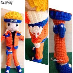 Have so much fun crocheting this anime character Naruto Uzumaki ~ 漩涡鸣人