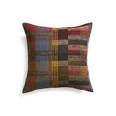 """Benito 20"""" Pillow with Down-Alternative Insert"""