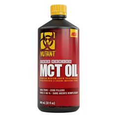 Mutant Core MCT Oil   Mutant Supplements - Official Trade Sports Nutrition Distributor   Tropicana Wholesale
