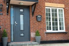 Need Composite Doors? We are Dublin's leading Front Doors experts. We are located in Swords, Dublin. Visit our website to see our Exterior doors. Composite Front Door, Front Door Design, Exterior Doors, Windows And Doors, House Colors, Dublin, Facade, Modern Design, Garage Doors