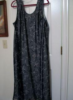 b839617f7e6 Elisabeth Liz Claiborne Women s Dress Plus Size 24 Sleeveless Overlay  Floral  LizClaiborne  Sheath