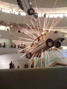 exploding powder art  | MAKE | LED exploding cars & gun powder art…