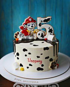 New Ideas Chocolate Decorations For Cake Themed Parties Paw Patrol Birthday Cake, Cupcake Birthday Cake, Cupcake Cakes, Torta Paw Patrol, Cake Recipes For Kids, Chocolate Decorations, Fun Cupcakes, Drip Cakes, Fondant Cakes