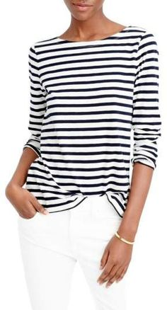 f943b67813eb4 12 Best boat neck tops images | Boat neck tops, Casual outfits ...