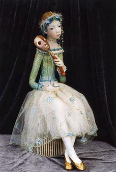 Orora Art figuratif. Pièce unique de Nadine Leëpinlausky