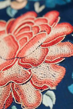 Selvage Blog: Embroidery - Chinese Knot