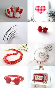 Red Tuesday by Nana on Etsy--Pinned with TreasuryPin.com