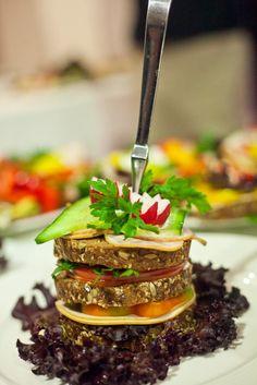 Jedna z konkursowych kanapek - kanapka zamiast obiadu.