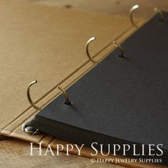 Big Size Kraft Paper Notebook / Photo by HappyJewelrySupplies