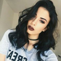 Mid Length Wavy Synthetic Hair Women Capless Wigs 16 Inches - New Site Black Ponytail Hairstyles, Braided Ponytail, Bob Hairstyles, Straight Hairstyles, American Hairstyles, Style Hairstyle, Hairstyle Ideas, Black Curly Wig, Curly Wigs
