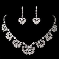 Great Gatsby Inspired Necklace and Earrings