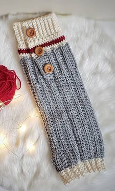 How To 32 Free Patterns to Make Crochet Leg Warmers - Page 26 of 31 - apronbasket .com - Crochet leg warmers free pattern - Crochet For Kids, Easy Crochet, Crochet Baby, Loom Knitting, Knitting Patterns, Crochet Patterns, Crochet Ideas, Crochet Leg Warmers, Arm Warmers