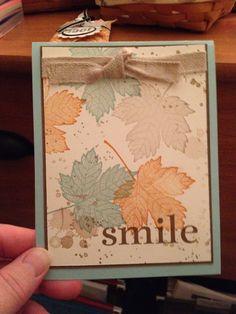 Fall Stampin Up Card