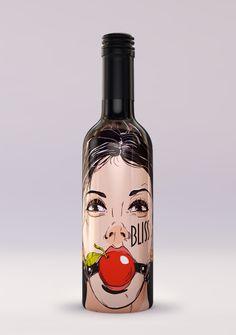 Fruit wine by Veniamin Iskra, via Behance
