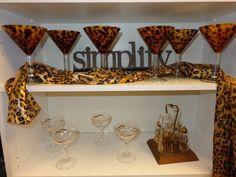 Six sexy martini glasses!