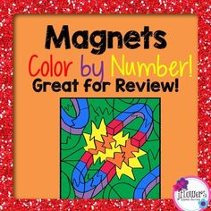 This is a great activity to use as a review over magnets.There are 20 questions that students will have to answer before they can color their picture. This activity can be used for early finishers, science centers, or when you have a sub. I hope you enjoy.Included in your download are the following: **20 Student Questions **Blank Coloring Page **Answer Key **Completed PictureI hope you enjoy!Check out my other color by number activities:Atoms & Periodic Table Color by Number!