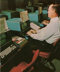 Programming in 1973 - thinking about my dad bringing home the punch cards they…